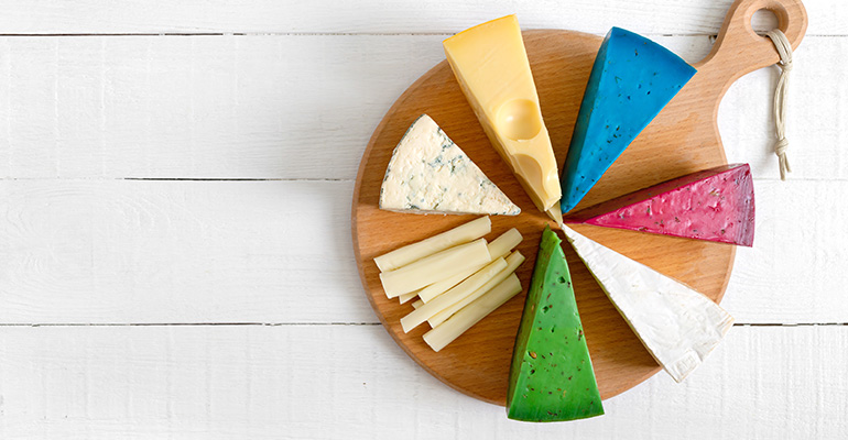 Cheese Groupings on board