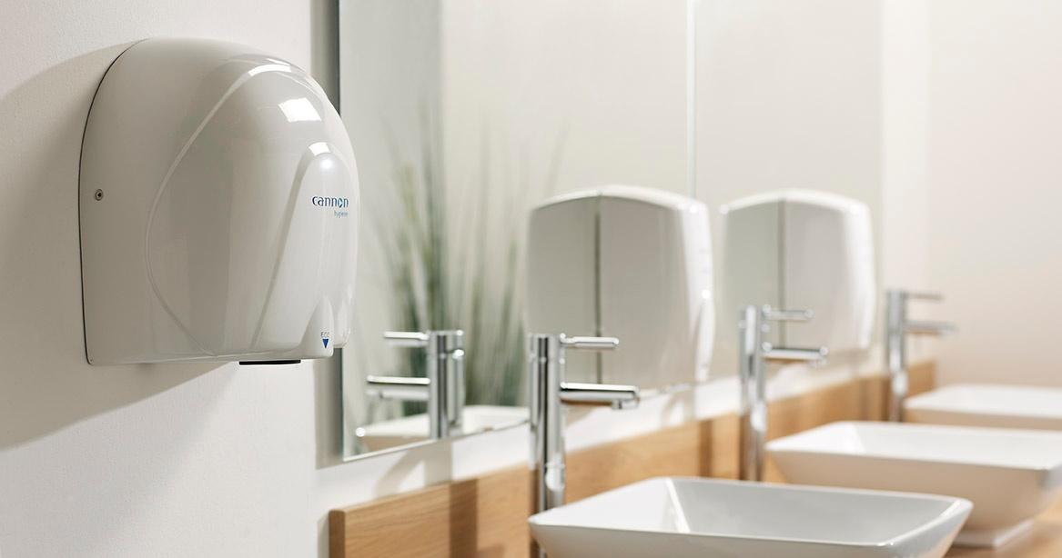 Cannon Hygiene hand dryers