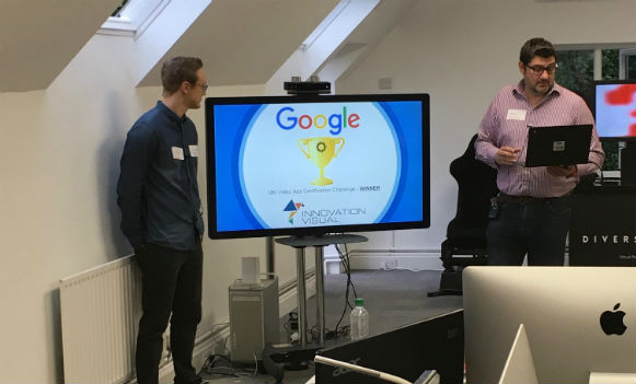 google partners talking about voice search