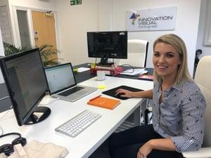 Helen Murray innovation visual intern