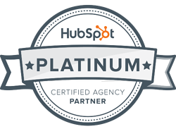 Innovation Visual accredited HubSpot Platinum Partner logo