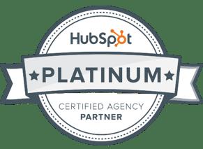 Innovation Visual's HubSpot Platinum Partner Agency badge