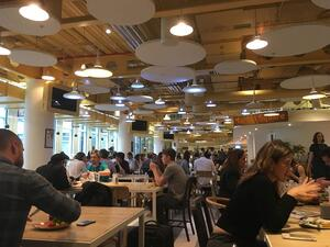 Google HQ Cafe