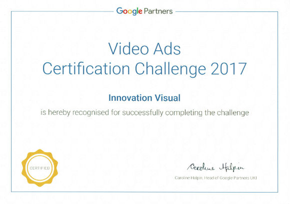 google ads certification winners certificate