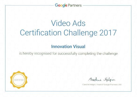 google ads certification winners certificate