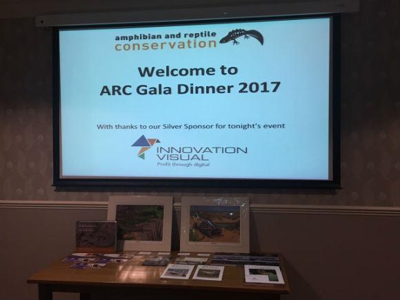 arc trust gala dinner presentation