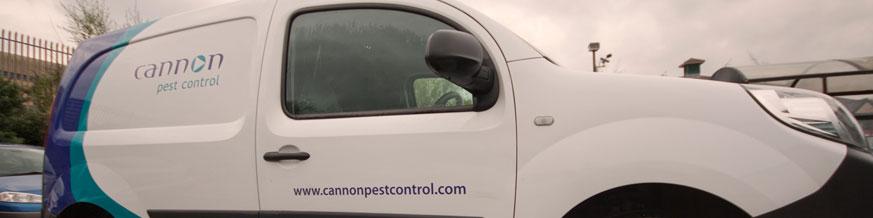 Cannon Pest Control Van