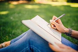 Writing Into A Notepad