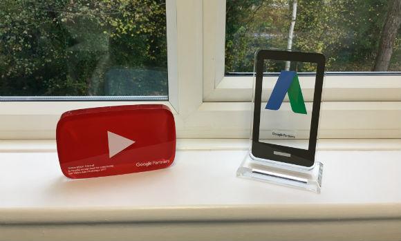 google partners certification trophies