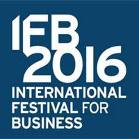 International Festival For Business 2016 Logo