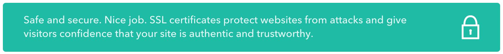 ssl certificate approved