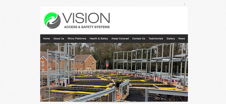 Vision Access Website Homepage