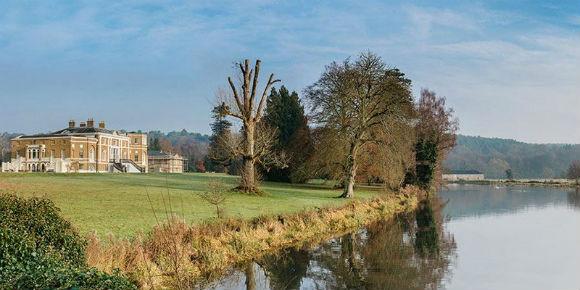 Waverley Abbey House in Surrey