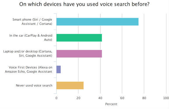 voice search device usage