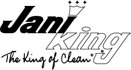 Jani King, King of Clean logo