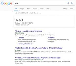 semantic search time