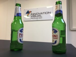 innovation visual welcome drinks