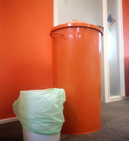 Innovation Visual's recycling bins
