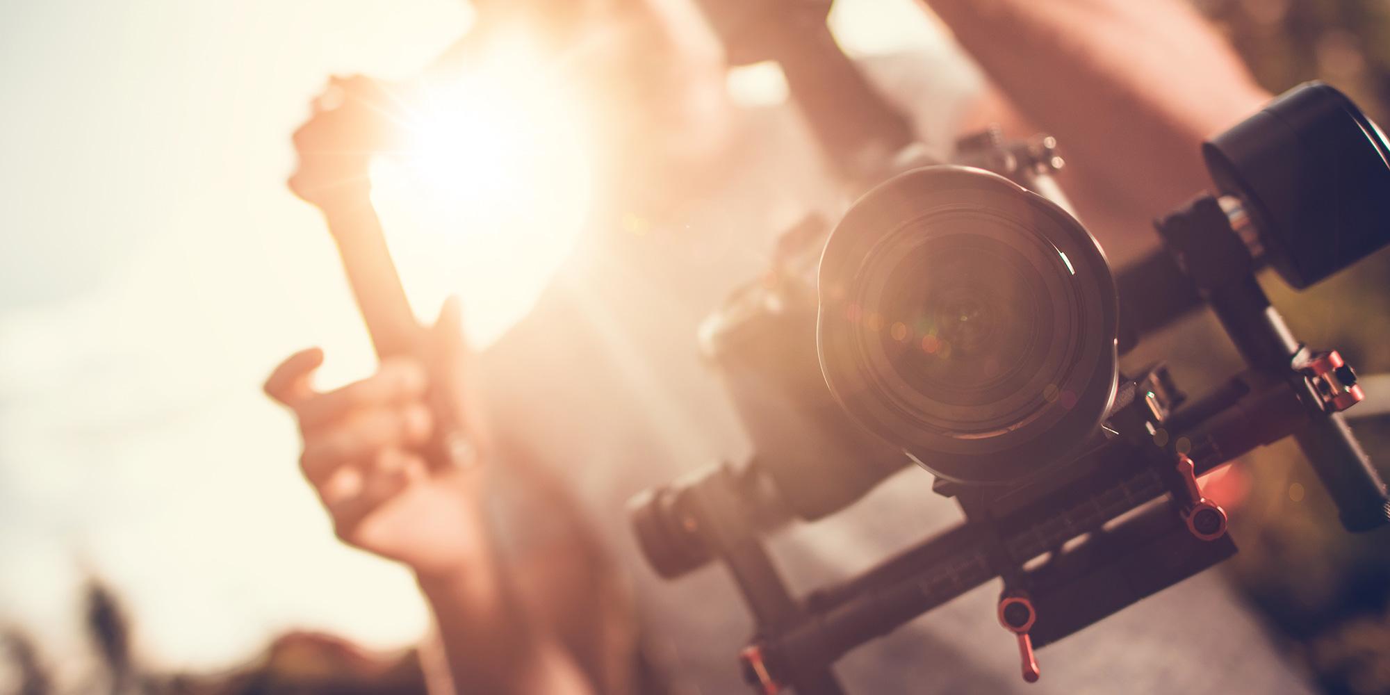 Video Camera Filming Ads