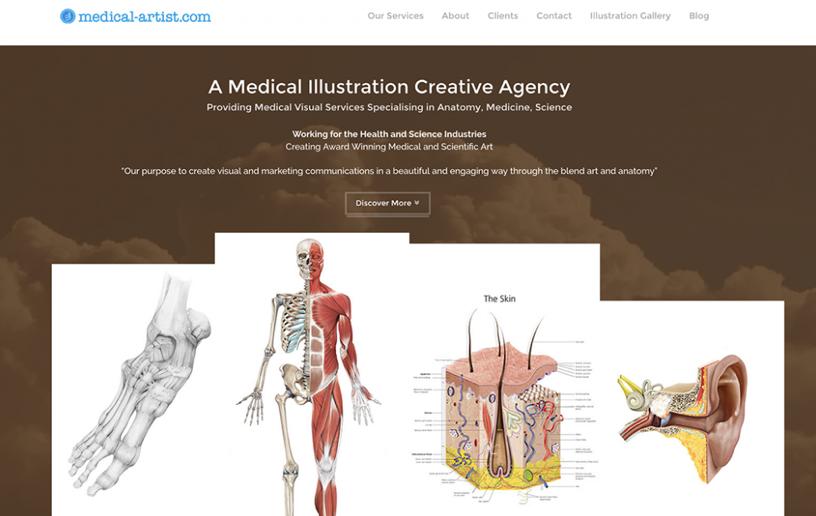 Medical Artist website