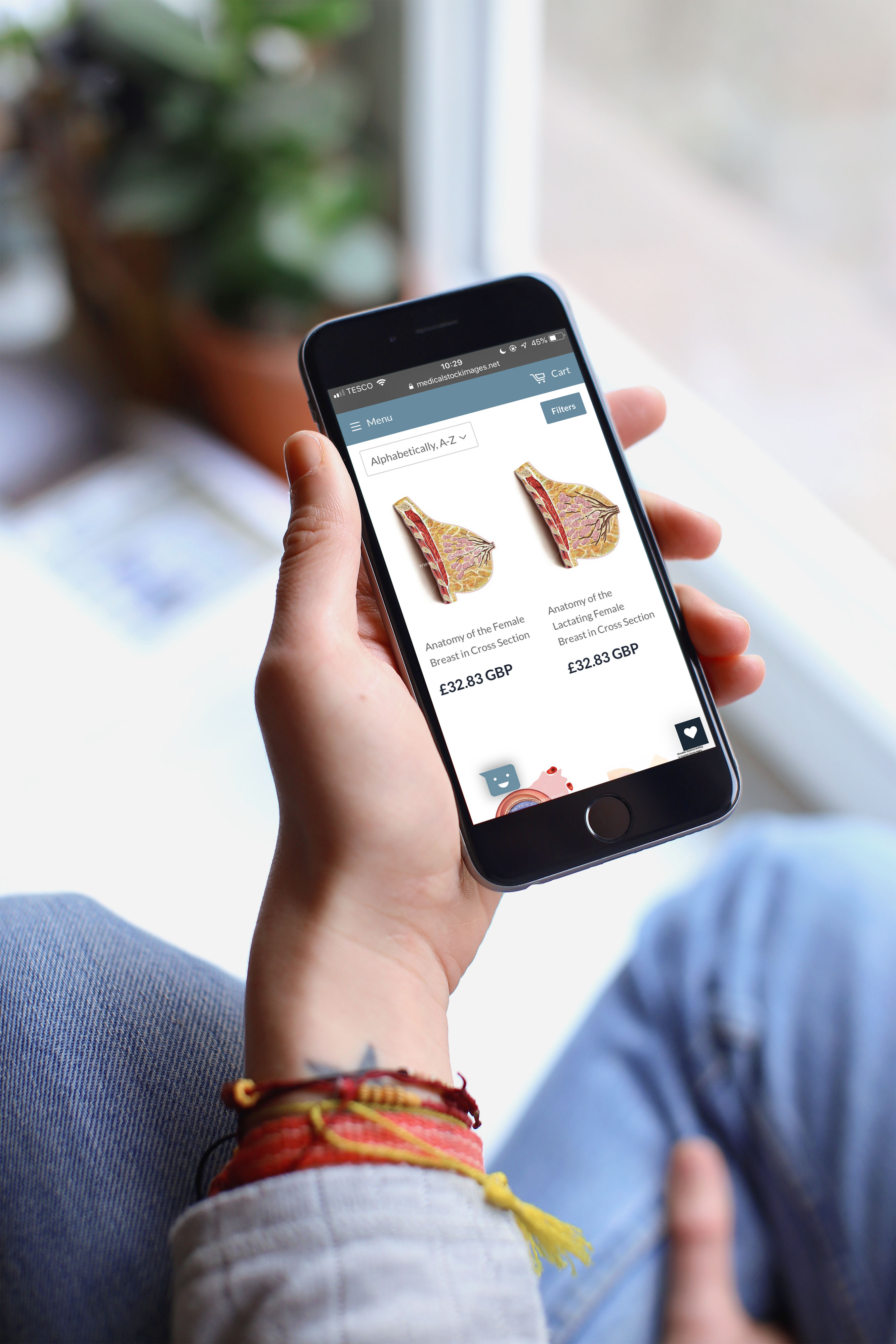 MSIC-ecommerce-site-mobile