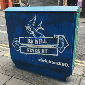 Brighton SEO street art