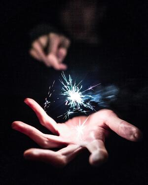 Sparkle in Hand
