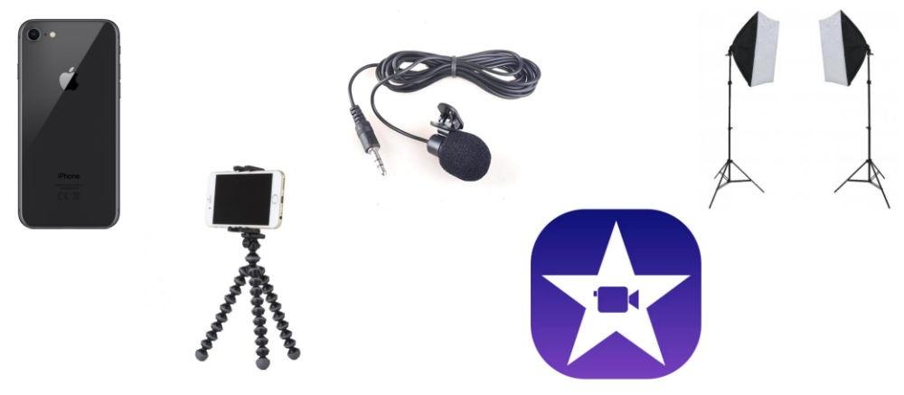 Equipment to make videos