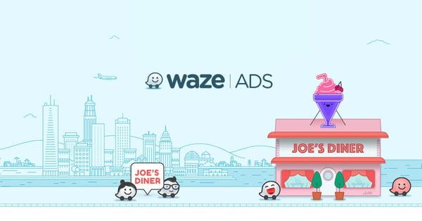 Waze advertising