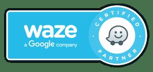 Waze Certified Partner Logo