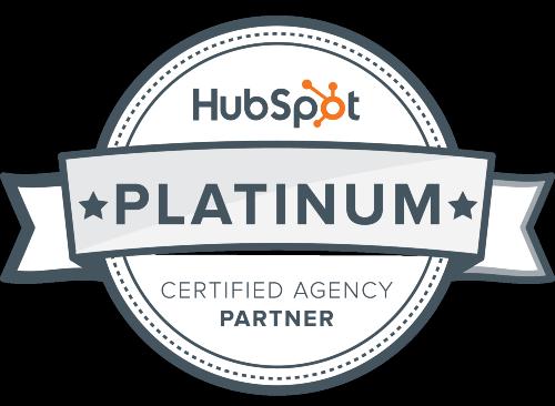 Innovation Visual accredited HubSpot Platinum Partner logo
